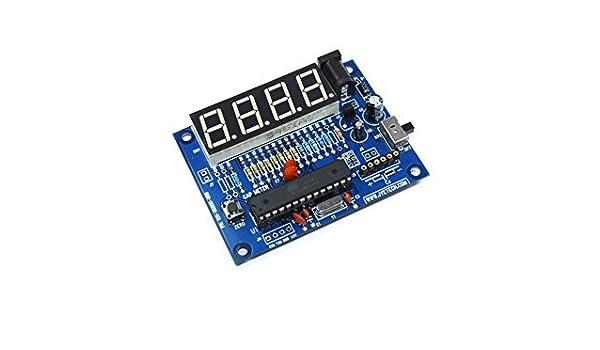 JYE-TECH Capacitance Meter 6002 Prototyping Electronic Capacitor Flux Workshop