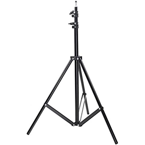 Neewer® Soporte Trípode de Aluminio de Luz para Estudio de Foto/Vídeo, Luz, Softbox – 9 pulgadas(260cm)
