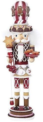 Kurt Adler Hollywood Gingerbread Nutcracker with Star Cookies, 18-Inch by Kurt Adler