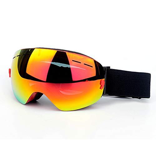 Coniea Schutz Brille für Brillenträger TPU+PC Schutzbrille Damen Sicherheitsbrille Rot