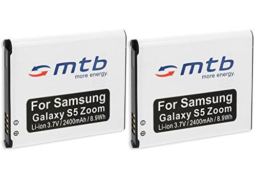 2x Akku EB-BC115 für Samsung Galaxy K Zoom, Galaxy S5 Zoom (SM-C115)