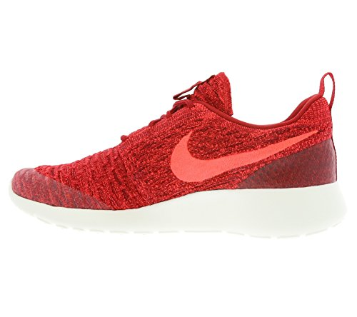 Nike Damen Wmns Roshe One Flyknit Turnschuhe, Rot Rojo (Gym Red / Brght Crimson-Tm Rd-Sl)