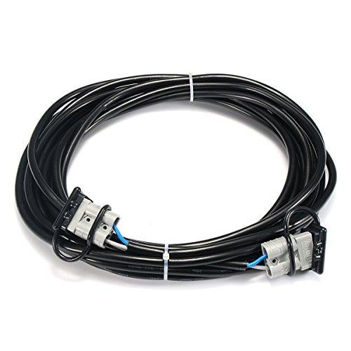 Tutoy 50 Amp Anderson Stecker Verlängerungskabel Quick Disconnect Winch Netzkabel Mit Deckel