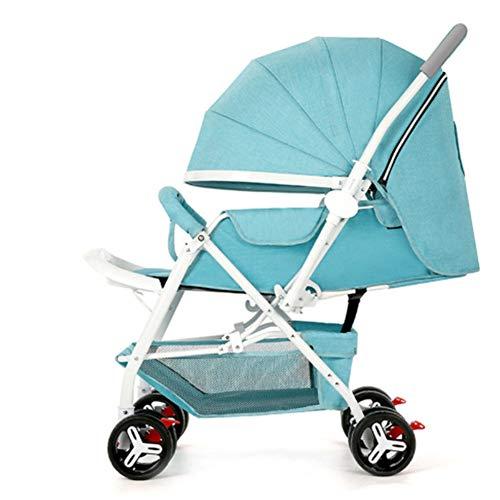 FYYTRL Kinderwagen kann sitzen liegend Falten ultraleichten Baby Kind Kinderwagen,Bronze