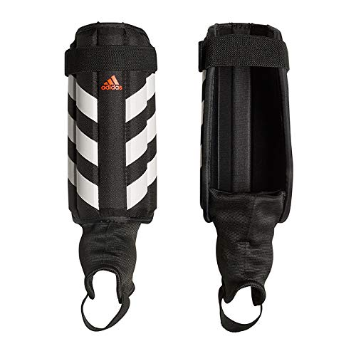 adidas Evertomic Shin Guards, Black/White/Solar red, M