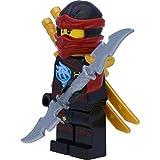 LEGO Ninjago: Minifigur Nya Skybound mit Ninja Doppelklingenschwert - 2