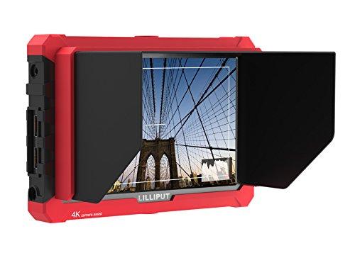 Lilliput A7S 7 Zoll 4K HDMI Eingang & Loop Ausgang Full HD 1920 * 1200 IPS Panel auf der Oberseite Kamera Monitor Unterstützung Canon 5D Mark II, Mark III, Marke IV Nikon Sony α7s II, α
