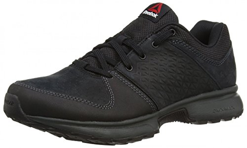 Reebok Sporterra Vi, Chaussures de Randonnée Homme Noir - Negro  (Black / Gravel / Red Rush)