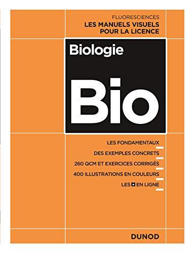 Biologie - Les manuels visuels pour la Licence par Elise Lelievre, Julie Denoeud, Jonathan Roques, Elise Hamard-Péron, Mickael Airaud