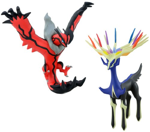 SportsMarket Takaratomy pokemon PVC Figure Xerneas &Yveltal Set