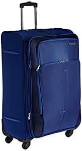 American Tourister Crete Polyester 77 cm Ink Blue Softsided Check-in Luggage (49W (0) 01 003)