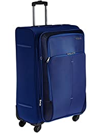 American Tourister Crete Polyester 77 cms Ink Blue Softsided Suitcase (49W (0) 01 003)