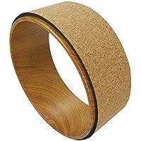 """QUBABOBO rueda de yoga ABS + Camo Dharma Yoga estiramiento / soporte apoyo círculo, Pilates plantea y backbende Ejercicio, deck Pose (13 """"x5"""")"""