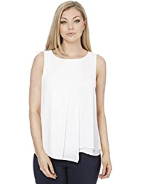 452701b4db1199 Roman Originals Women s Wrap Front Layer Vest Top
