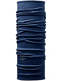 SET - BUFF® 100% MERINO Tissu Tubulaire + UP® Ultrapower Tissu tubulaire | Unisexe | Multifonctionnel | Chapeaux | Cagoule | Châle | Foulard, BUFF Merino Designs:DENIM - 108811.00