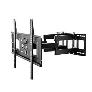 FLEXIMOUNTS CR1 Curved Panel TV Wall Mount Bracket for 32 -65 UHD OLED 4k Samsung LG Vizio etc TVs