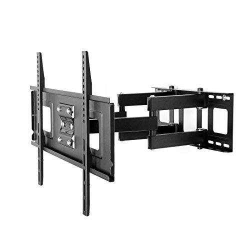 Fleximounts A04 LCD TV-Wandhalterung/Fernsehhalterung für LED LCD Plasma, mit Wasserwaage, schwenkbar, neigbar (32-65 Zoll | max.VESA 600x400)