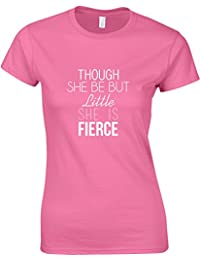 She Is Fierce, Ladies Printed T-Shirt