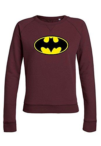 rs20 Sweat pour femmes Trips Batman Burgundy