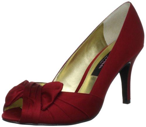Nina Bridal Forbes, Scarpe col tacco donna, Rosso (Red Rouge), 37 EU / 4,5 UK