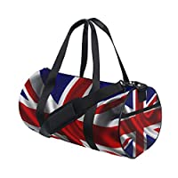 Eslifey British Flag Fitness Sports Bags Gym Bag Travel Duffel Bag for Mens and Womens