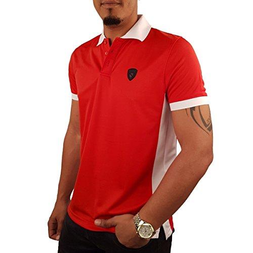 SEBASTIANO Herren Poloshirt Rot
