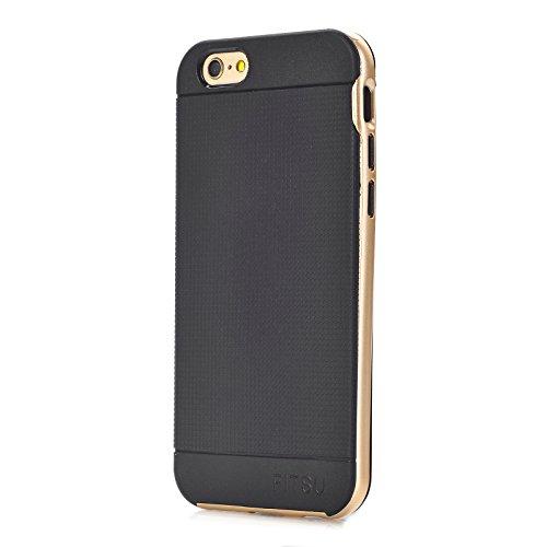 Fitsu TPU Case (iPhone 6 Plus / 6s Plus, Blau) Gold