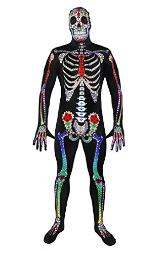ILOVEFANCYDRESS Halloween-Kostüm / Skelett-Anzug, Hauteng