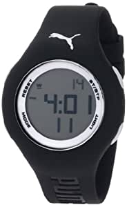 5035e74b0768 Buy PUMA Women's PU910912007 Loop Small Digital Black White Watch ...