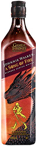 Johnnie Walker A Song of Fire - Blended Scotch Whisky, Haus Targaryen Game of Thrones Limited Edition, 70 cl, 40,8{2ba58354aa295eb95f5ef4468b944c3c5fe44b487a3cce2b17420c061eac4079}