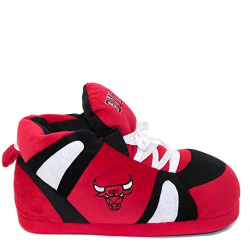 Sleeper'z - NBA Official Licence Hausschuhe Chicago Bulls - Erwachsene - L Logo Sleeper