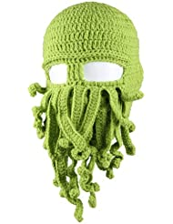 Chapeau bonnet unisexe tricot octopus