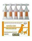 PetNatura Pipetas Antiinsectos para Perros y Gatos - 5 pipetas de 0,5 ML.