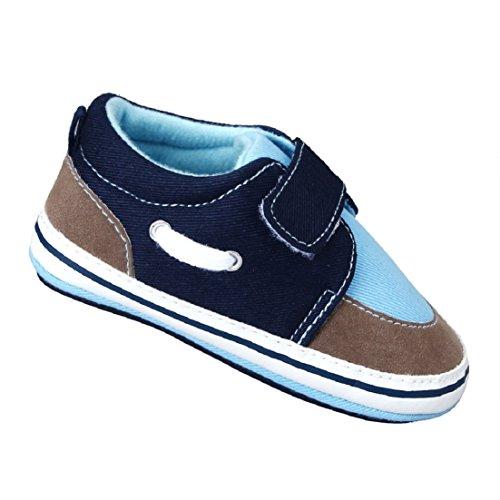 Tonsee® Toddler Infantile chez les Premières Walkers Coton Chaussures Sneaker Bottom Souple Bleu