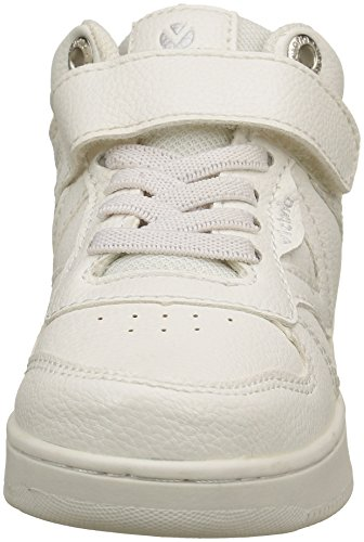 Victoria Monocolor, Baskets Hautes mixte enfant Blanc (blanco)