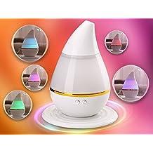 Hivel Portatile USB Oli Essenziali Diffusore di Aromi Aromaterapia Mini Ultrasuoni Muto Purificatore d'aria Umidificatore 250ml - Colorato