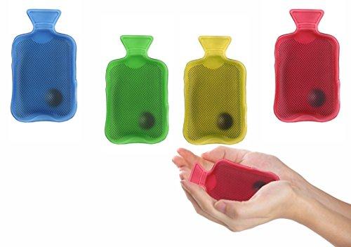 Scaldamani a forma di mini borsa d'acqua calda 7 x 12 cm utilizzabile all'infinito. media wave store