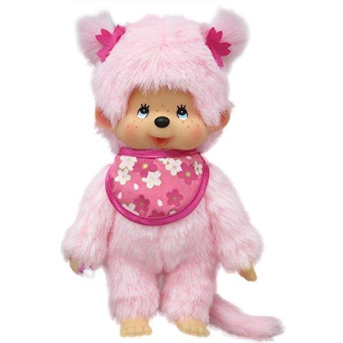 Bandai - 24289 - Monchhichi Pinky  - Rose 3296580242894