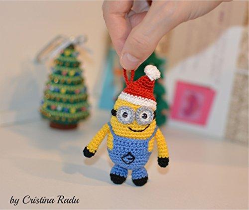 handgemachte Spielzeug, Miniatur Dekoration, Winterurlaub Ornament (Minions Weihnachten Dekorationen)