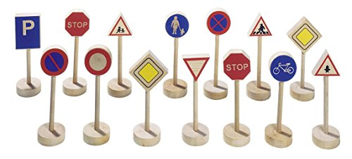Goki - 2041286 - Figurine Transport Et Circulation - Panneau De Signalisation I