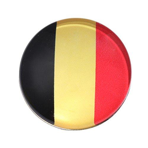Baoblaze Thema Sicherheitsnadel Brosche Schwarz Blau für Pullover, Schal, Wraps - Mehrfarbig - Belgien