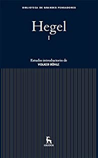 Hegel I par  Georg Wilhelm Friedrich Hegel