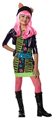 lf Monster High-Kostüm für Mädchen 98/104 (3-4 Jahre) (Mädchen Howleen Wolf Kostüme)