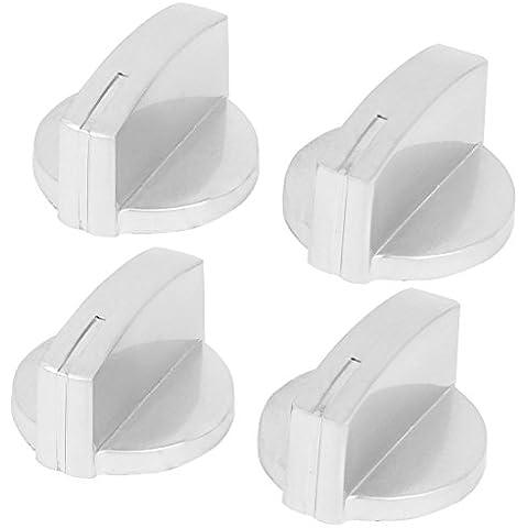 Mercancías de la cocina de la aleación del reemplazo de la estufa de gas Horno Perilla gama de interruptores de 4