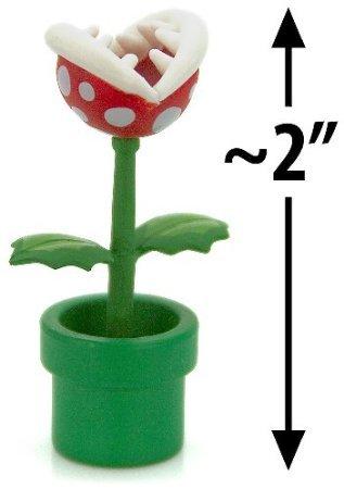 Furuta Super Mario Bros Figure Piranha Plant (50mm Mini Figur) (Super Mario Bros Plüsch-wii)