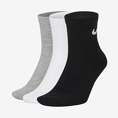 Nike U Nk Everyday LTWT Ankle 3pr Socks