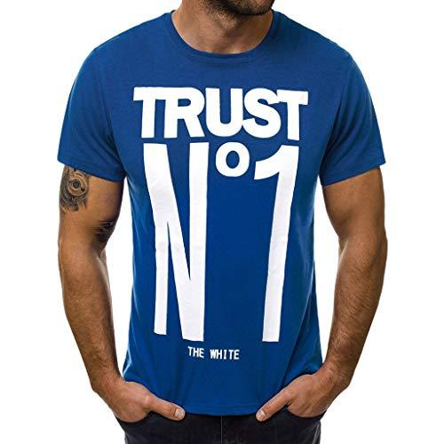 Beiläufige dünne Buchstabe der Art- und Weisemänner druckte Kurze Hülsen-T-Shirt Spitzenbluse (Erstellen Sie Eine Sales-team)