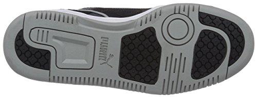 Puma Rebound Street CV Unisex-Erwachsene Sneakers Schwarz (black-black-limestone gray 01)