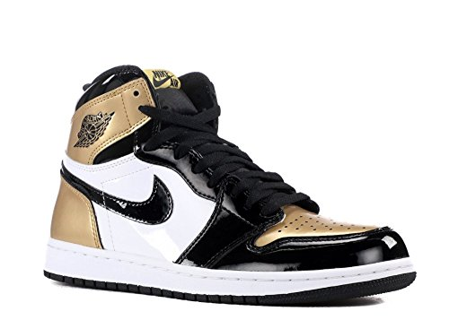 Nike Air Jordan 1 Retro High OG NRG 'Gold Top 3' - 861428-001 - Size 12 -