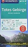 Totes Gebirge, Almtal, Stodertal: 4in1 Wanderkarte 1:50000 mit Aktiv Guide und Detailkarten inklusive Karte zur offline Verwendung in der KOMPASS-App. ... Skitouren. (KOMPASS-Wanderkarten, Band 19) -